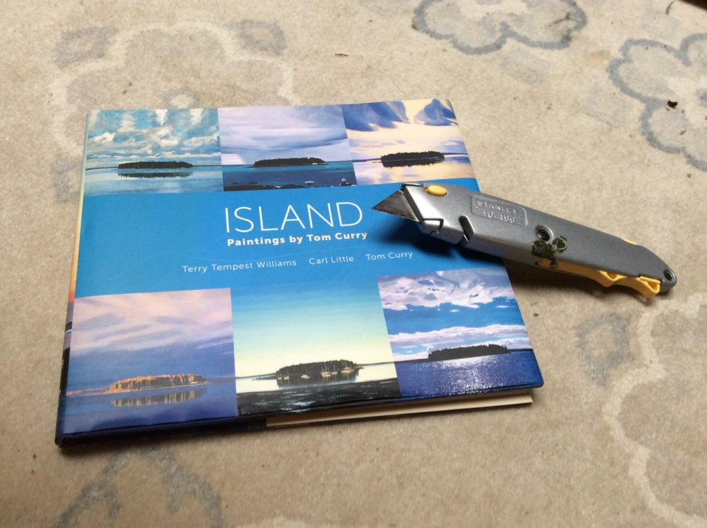 Art book of paintings of a Maine Island